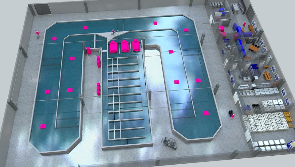 REX-M Recirculating Aquaculture System M1500