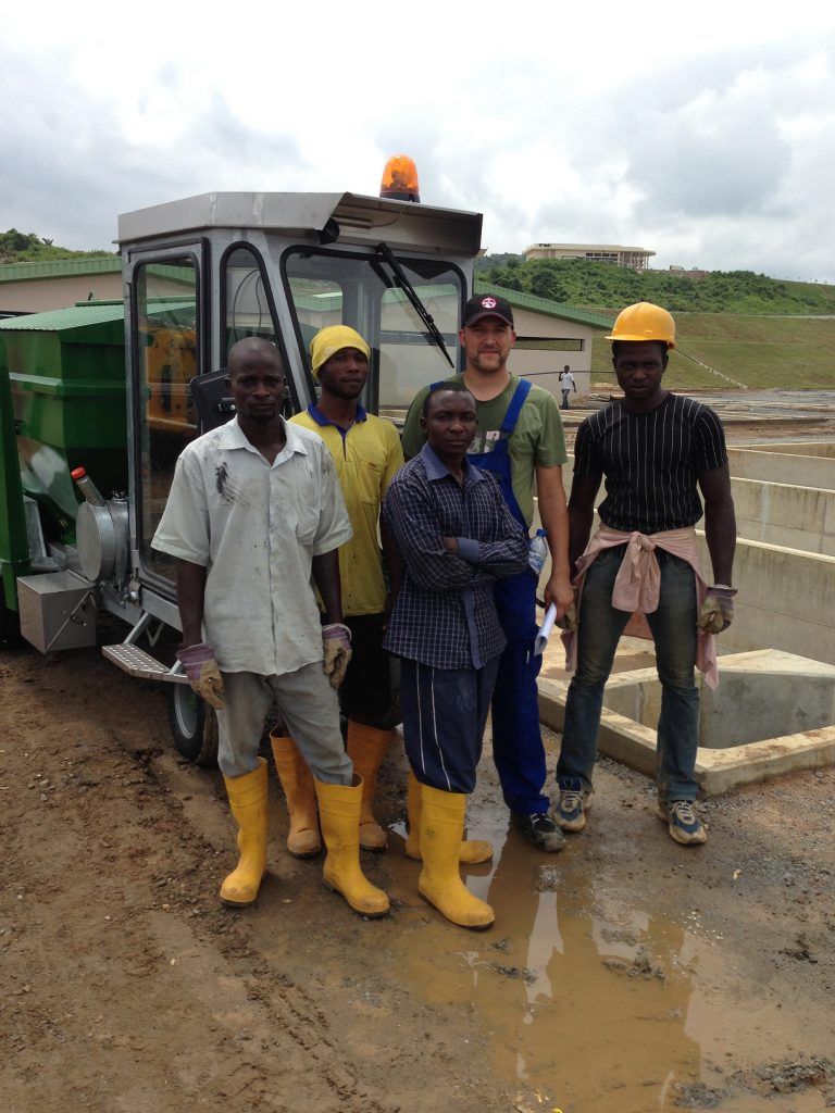 REX-M site supervision RAS Bauüberwachung Kreislaufanlage Projektmanagement Aquakultur project management aquaculture