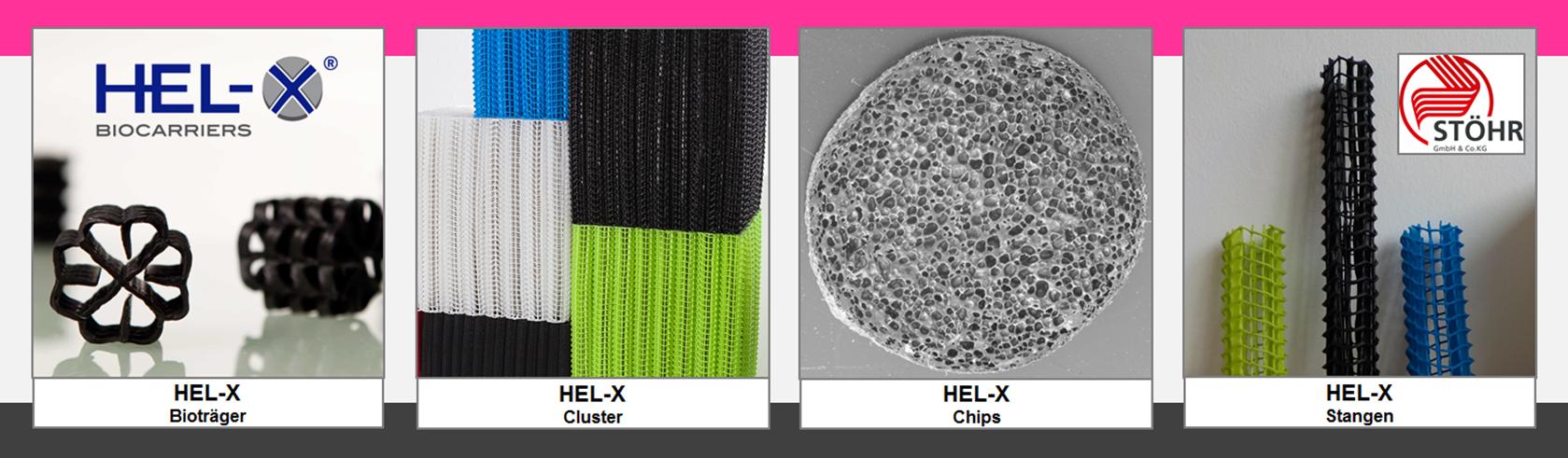 REX-M Biofilter Kreislaufanlage Nitrifikation Denitrifikation RAS Fließbett Festbett MBBR FBBR