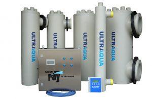 REX-M UV Desinfektion Kreislaufanlage UV-disinfection RAS УЗВ Ultraaqua 220W family portrait